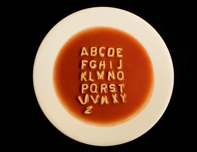 """Z angielska problem zahacza o pojęcie """"alphabet soup"""" (źródło obrazka: solomonmccown.com)"""