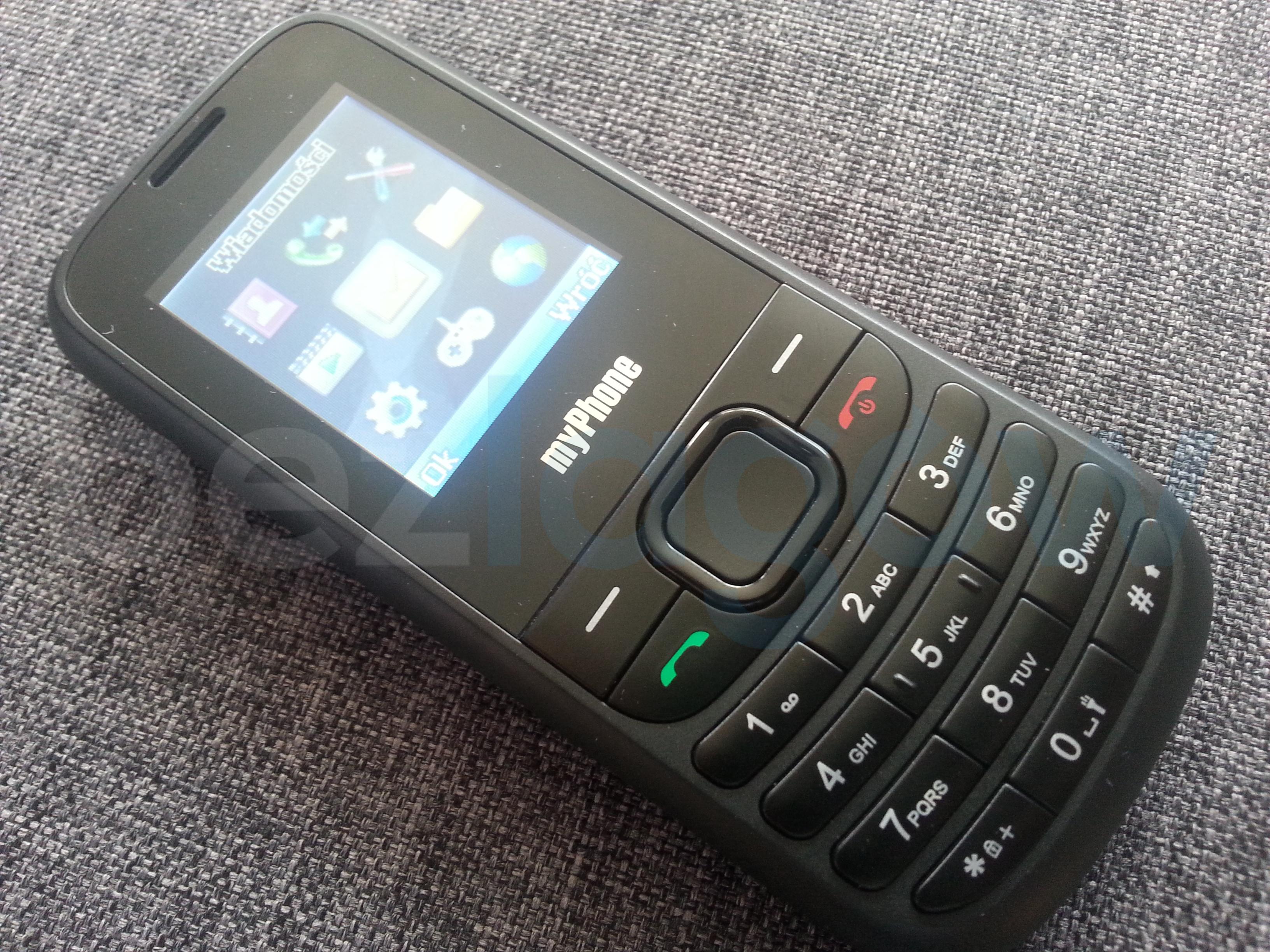 Recenzja telefonu myPhone 3200