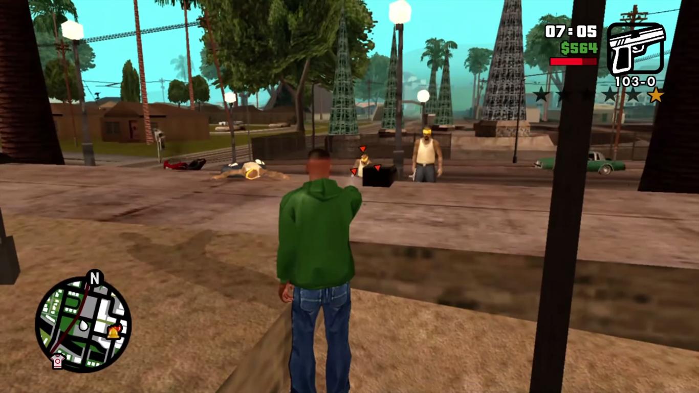GTA San Andreas HD xbox 360 #4