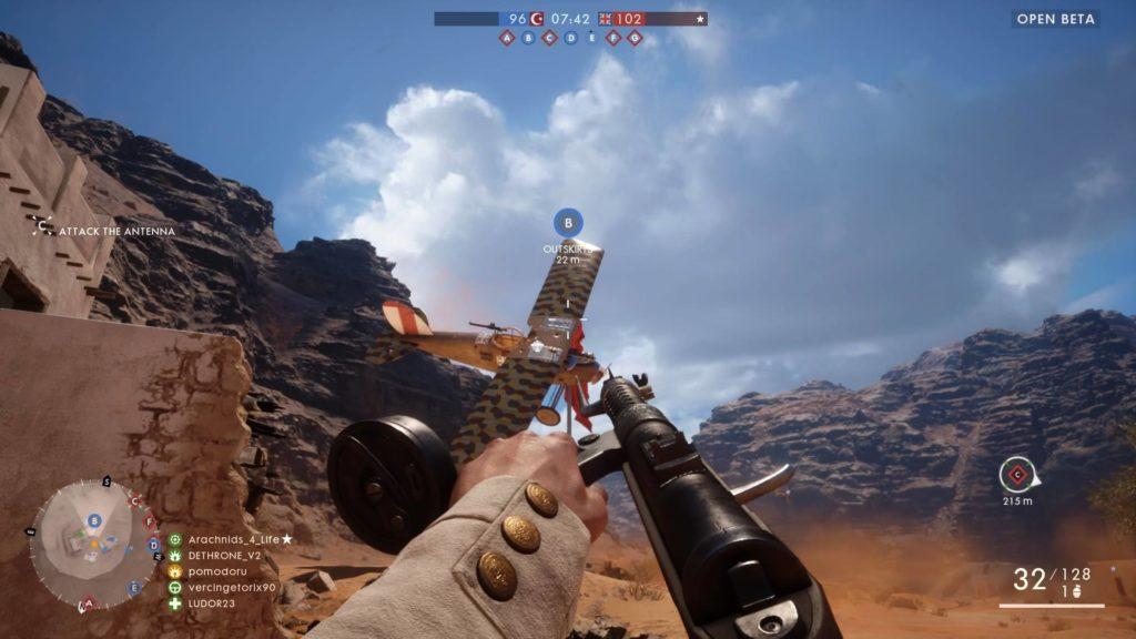 Battlefield 1 Beta 4